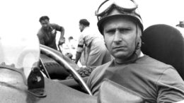 UNSPECIFIED - JANUARY 02:  The Argentine racecar driver Juan Manuel FANGIO at the wheel of a Ferrari around 1951.  (Photo by Keystone-France/Gamma-Keystone via Getty Images)